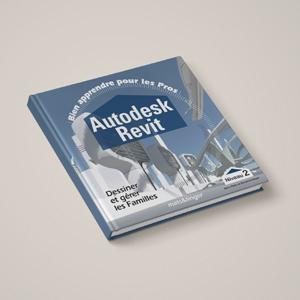 Couverture livre de formation AutoDesk REVIT - formation pour les professionnels