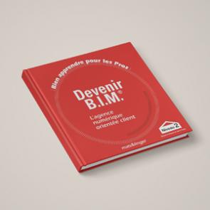 Couverture Devenir BIM - livre de formation pour les professionnels